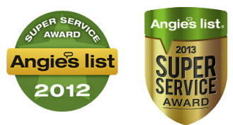 our awards from angieslist